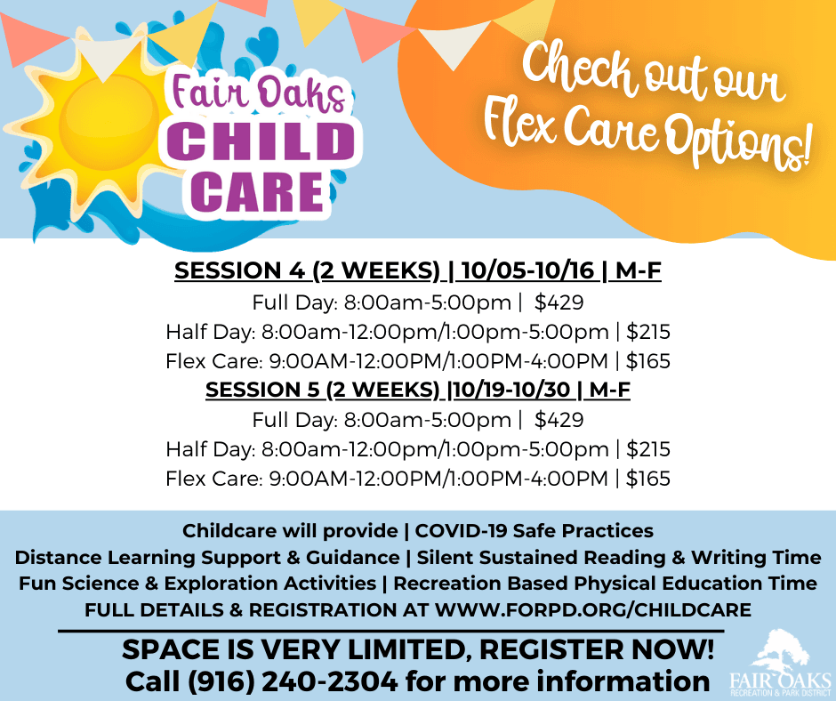 Fair Oaks Childcare Sessions