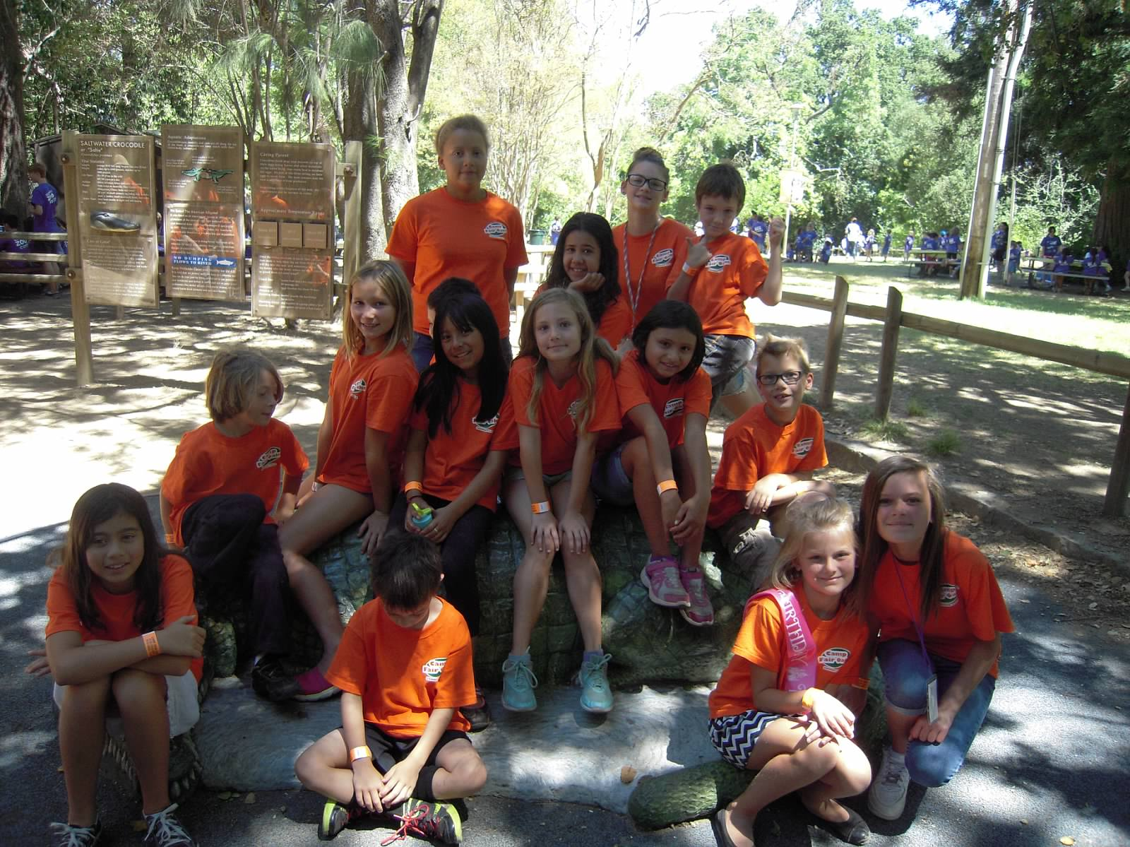 Camper group photo