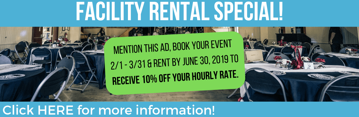 Facility Rental Special
