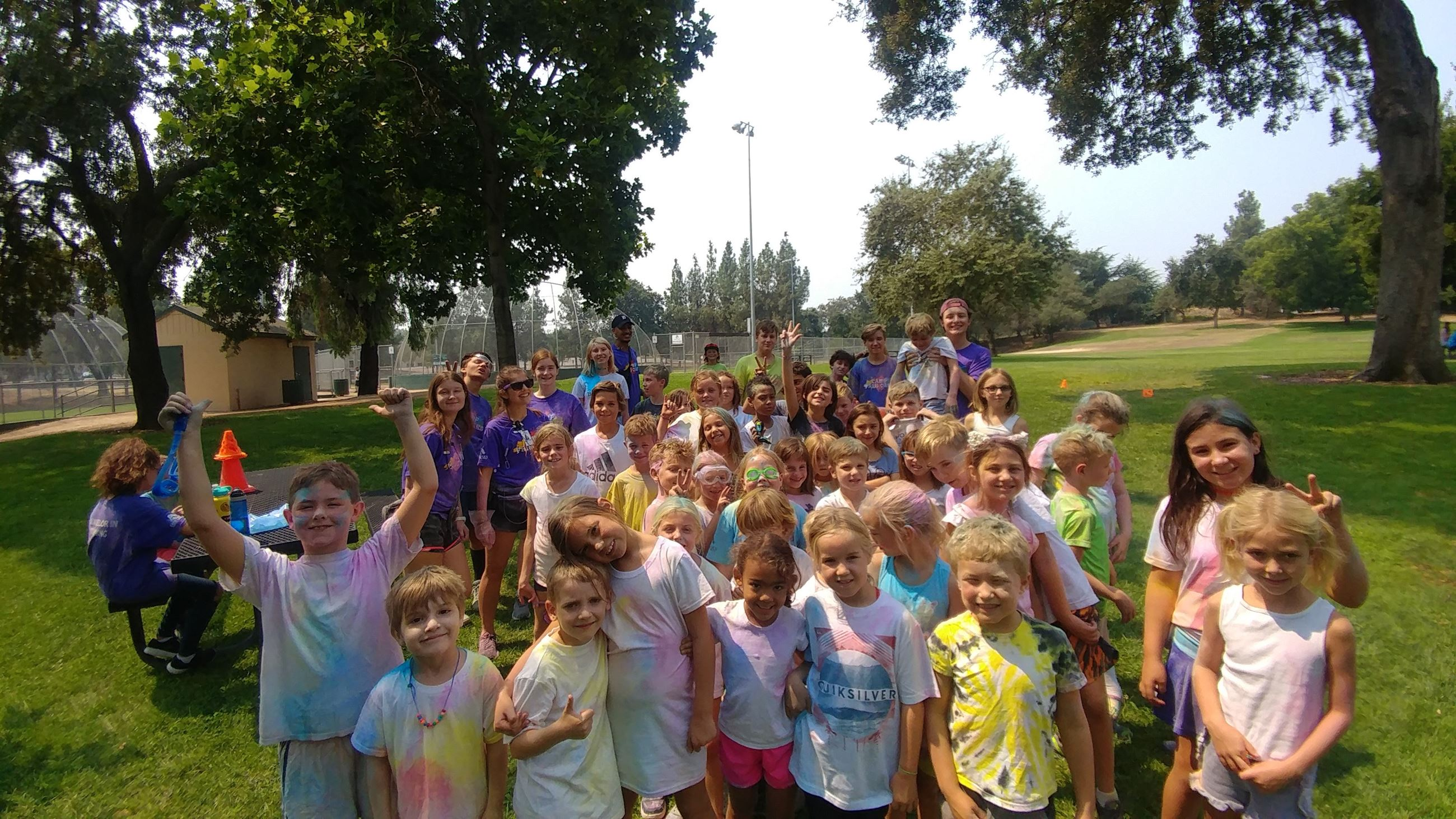Color Run Group Photo