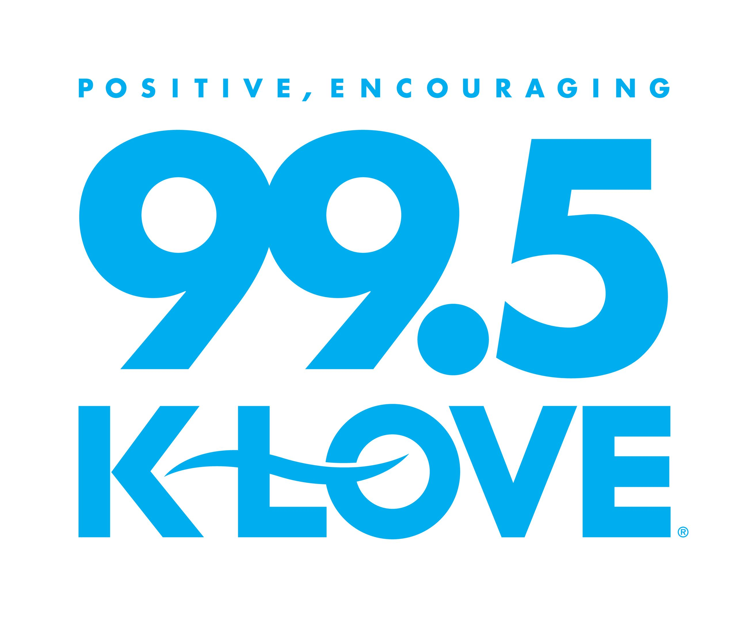 KLOVE 99.5 Logo Opens in new window