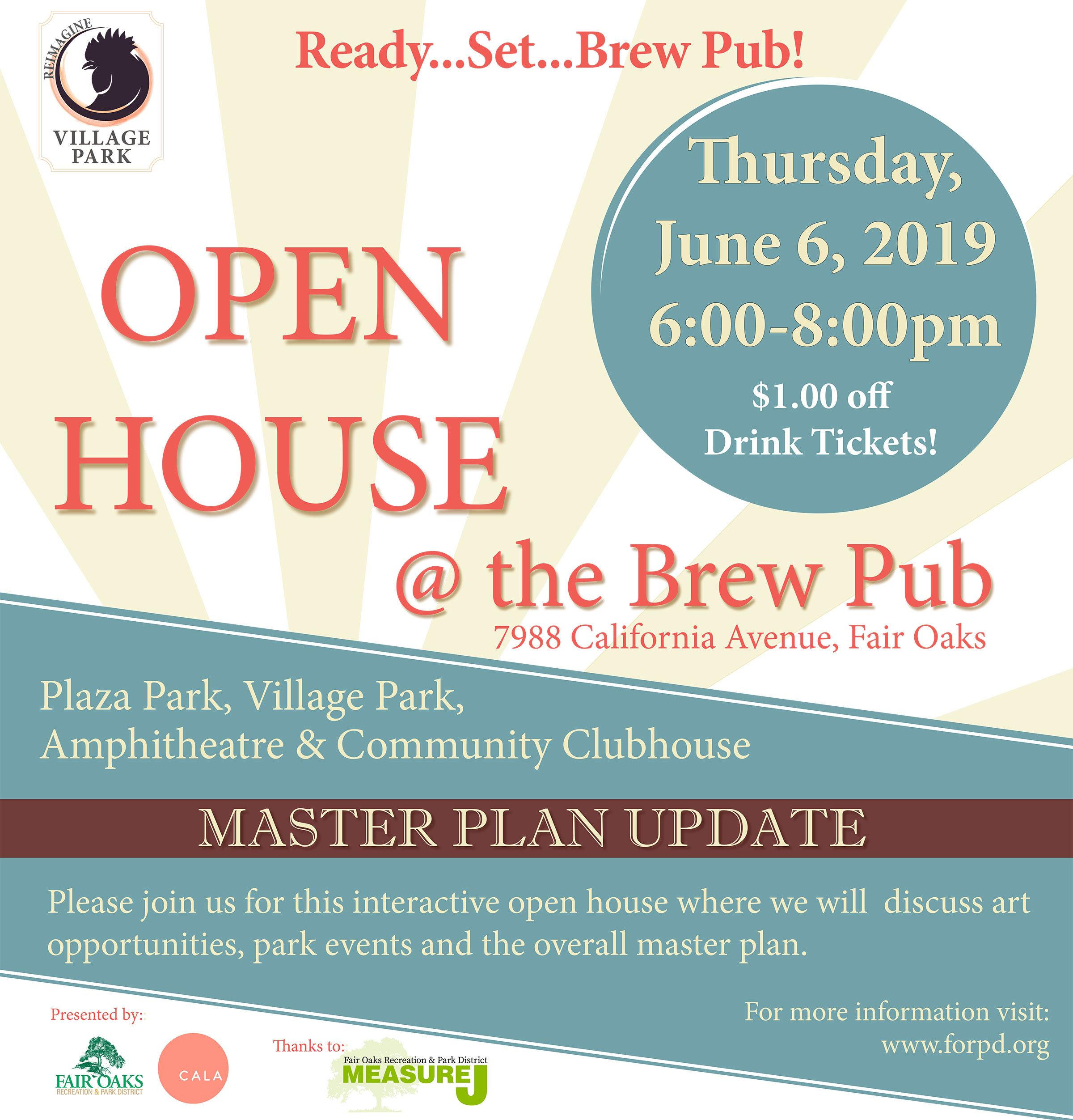 Open House at the Brew Pub